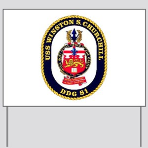 USS Winston S. Churchill DDG 81 US Navy Ship Yard