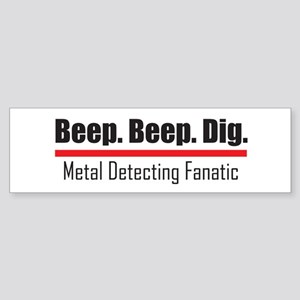 Beep Beep Dig Bumper Sticker
