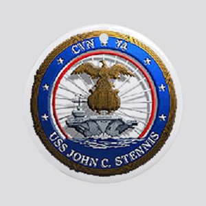 USS John C. Stennis CVN 74 USS Navy Ship Ornament