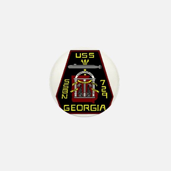 USS Georgia SSBN 729 US Navy Ship Mini Button