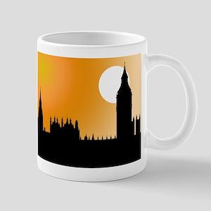 Houses of Parliament Silhouet Mug