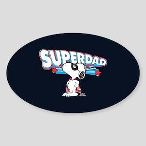 Peanuts Super Dad Sticker