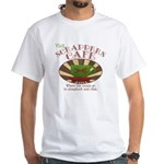 Scrappers Cafe White T-Shirt