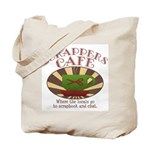 Scrappers Cafe Tote Bag