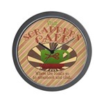 Scrappers Cafe Wall Clock