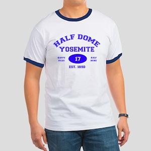 Yosemite Half Dome Men's Ringer T