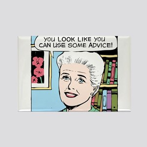Advice Rectangle Magnet