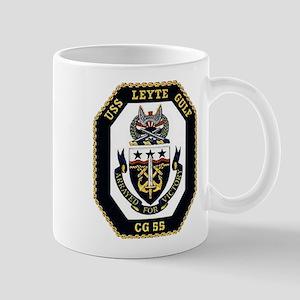 USS Leyte Gulf CG 55 US Navy Ship Mug