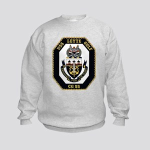USS Leyte Gulf CG 55 US Navy Ship Kids Sweatshirt
