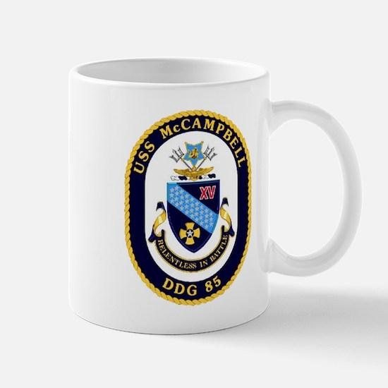 USS McCampbell DDG 85 US Navy Ship Mug