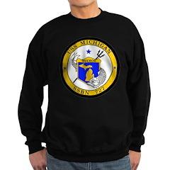 USS Michigan SSBN 727 USS Navy Ship Sweatshirt