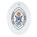 USS Pioneer MCM 9 US Navy Ship Oval Ornament