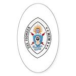 USS Pioneer MCM 9 US Navy Ship Sticker (Oval 50 pk