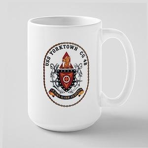 USS Yorktown CG 48 US Navy Ship Large Mug