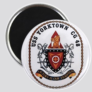 USS Yorktown CG 48 US Navy Ship Magnet