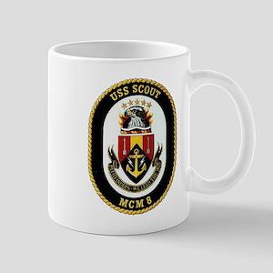 USS Scout MCM 8 Navy Ship Mug