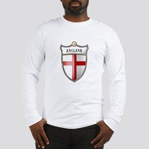 St George Cross Shield of Eng Long Sleeve T-Shirt
