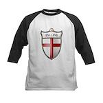 St George Cross Shield of Eng Kids Baseball Jersey
