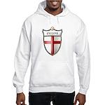 St George Cross Shield of Eng Hooded Sweatshirt