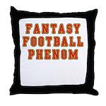 Fantasy Football Phenom Throw Pillow