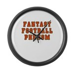 Fantasy Football Phenom Large Wall Clock