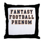Fantasy Football Phenom Throw Pillow