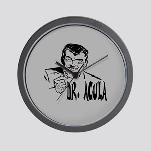 Dr Acula Wall Clock