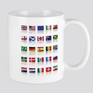 Reflecting on the Flags of th Mug