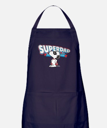 Peanuts Super Dad Apron (dark)
