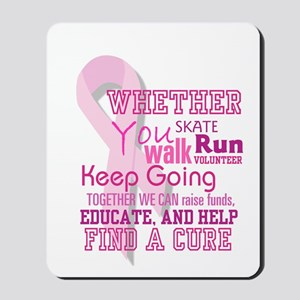 Find a Cure - Mousepad