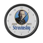 Igor Stravinsky Large Wall Clock