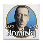 Igor Stravinsky Tile Coaster