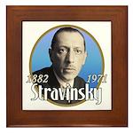 Igor Stravinsky Framed Tile