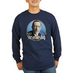 Igor Stravinsky Long Sleeve Dark T-Shirt