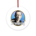 Igor Stravinsky Ornament (Round)