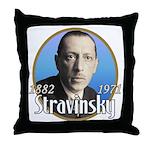 Igor Stravinsky Throw Pillow