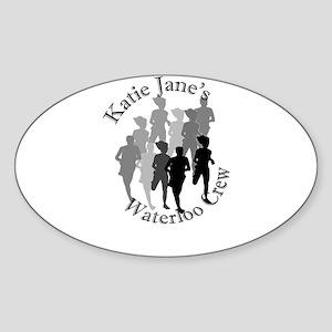 Waterloo Crew Oval Sticker