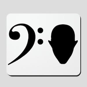 Bass Head Mousepad