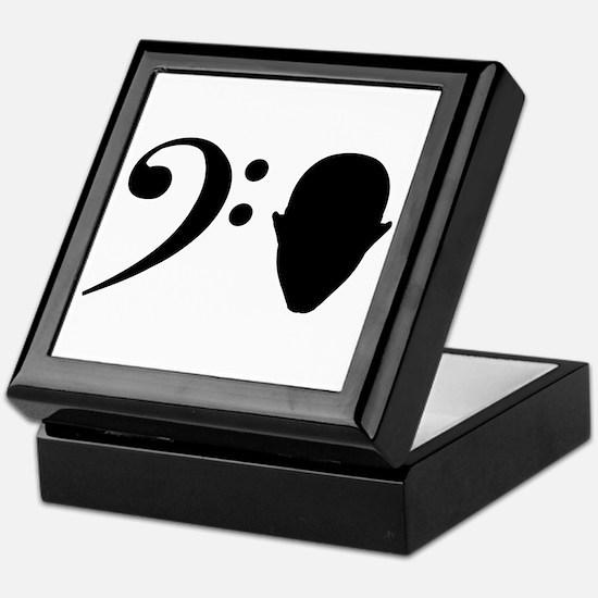 Bass Head Keepsake Box