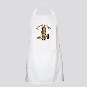 Personalized Firefighter BBQ Apron