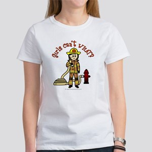 Personalized Firefighter Women's T-Shirt