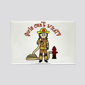 Personalized Firefighter Rectangle Magnet