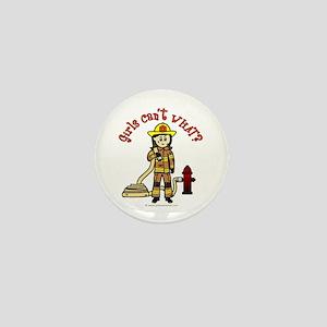 Personalized Firefighter Mini Button
