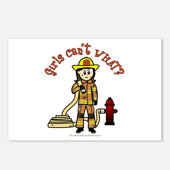 Personalized Firefighter Postcards (Package of 8)