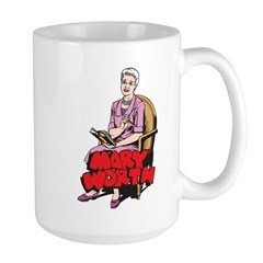 Mary Reading Large Mug