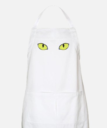 Halloween Cat's Eye BBQ Apron