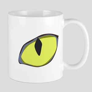 Halloween Cat's Eye Mug
