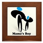 Mama's Boy Framed Tile