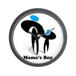 Mama's Boy Wall Clock