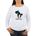 Mama's Boy Women's Long Sleeve T-Shirt